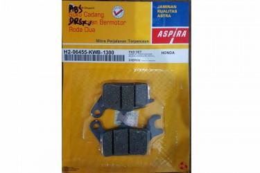 Aspira H2-06455-KWB-1300 Kampas Rem Cakram Depan