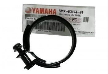 Yamaha Genuine Parts 5MX-E3474-01 Karburator Kleman Karbu