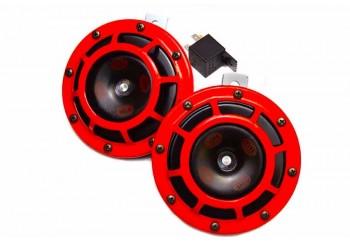 Hella Super Tone Klakson Disc Merah