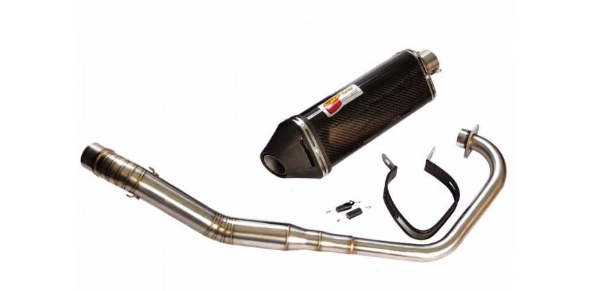 Evo-2 Knalpot Full system Carbon 0