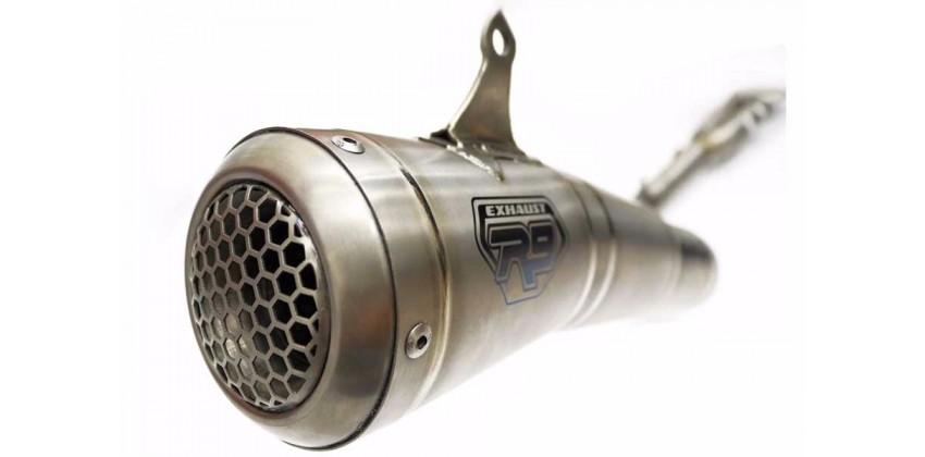 R9 Knalpot Knalpot Full System Titanium 0