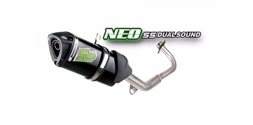 Neo SS Dual Sound Knalpot Knalpot Full System Stainless 0