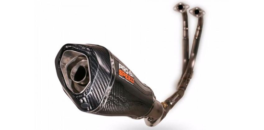Shark Predator Series Knalpot Knalpot Full System Titanium 0