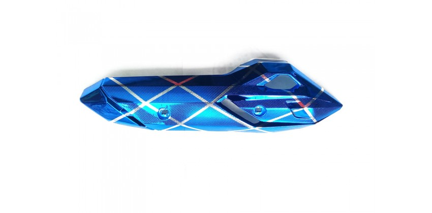Virgo Racing VRG3347 Cover Knalpot Blue 0