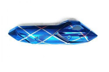 Virgo Racing VRG3347 Cover Knalpot Blue