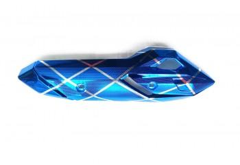 VRG3347 Cover Knalpot Blue