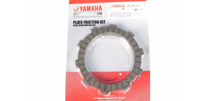 Yamaha Genuine Parts 5BP-WE63A-10 Kampas Kopling 0