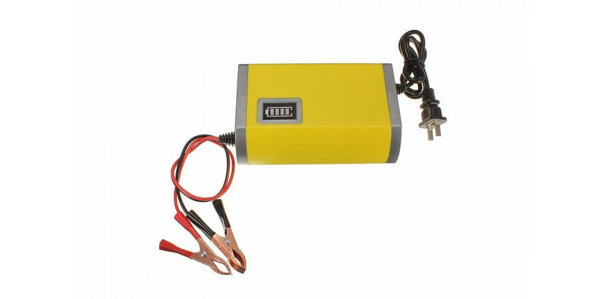 Portable Motorcycle Car Battery Charger 0