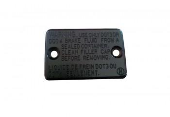 Yamaha Genuine Parts 5P0-F5852-00 Tutup Tabung Master Rem