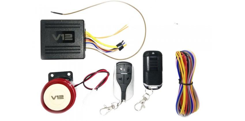 V12 Pengaman Motor Alarm 0