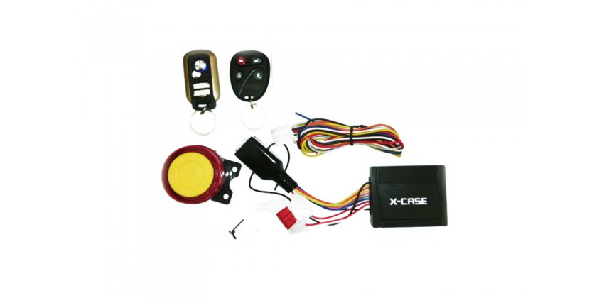 X-Case Pengaman Motor Alarm 0