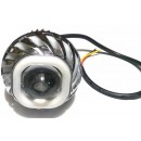 Virgo Racing Angel Eye+Devil Eye / Lampu Proji Model U41 Mini Projie LED Putih 0