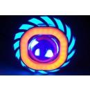 Virgo Racing Angel Eye+Devil Eye / Lampu Proji Model U41 Mini Projie LED Putih 1