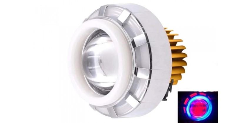 Virgo Racing LED Lampu Projector / LED Proji Light Angel Eye+Devil Eye / Lampu Proji LP6 0