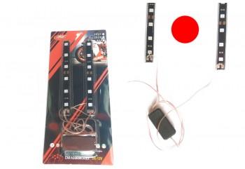 Virgo Racing LED STROBO 2 - Modul Strobe Lengkap Dengan Lampunya Kedip Strobo Merah Projie