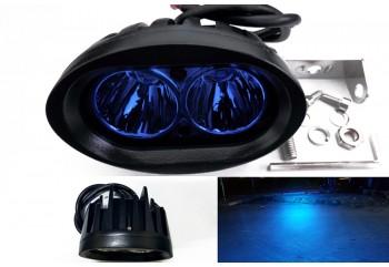 Virgo Racing Lampu Sorot Tembak Cree Owl 2 LED 20 Watt - Biru