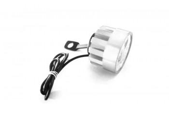 Virgo Racing Lampu Tembak LED 4 Mata Sorot Putih Model Baut di Spion - Silver Projie