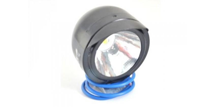 Virgo Racing Luxeon Lampu Sorot Variasi LED Model Topi Projie Putih 0