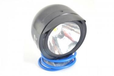 Virgo Racing Luxeon Lampu Sorot Variasi LED Model Topi Projie Putih