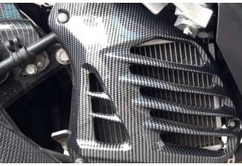 Motif Carbon Radiator Cover Radiator