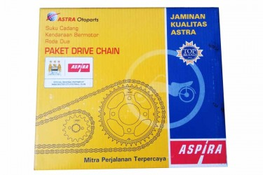 Aspira 13016 Chain Kit Abu-abu