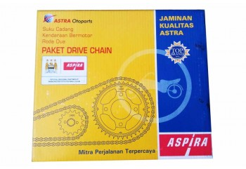 Aspira 13016 Chain Kit Abu-abu