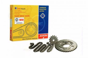 Aspira 13041 Chain Kit Abu-abu