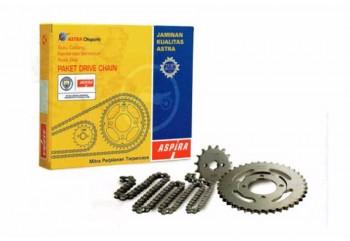 Aspira 13044 Chain Kit Abu-abu