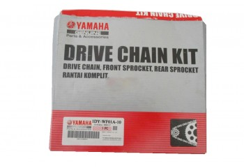 Yamaha Genuine Parts 1DY-WF01A10-00 Chain Kit Silver