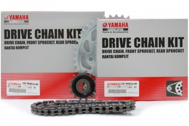 Yamaha Genuine Parts 1S7-W001A-00 Chain Kit Silver