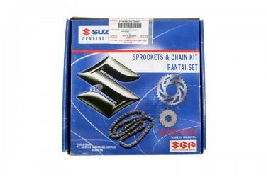 Suzuki Genuine Part 27000B20G61NKIT Chain Kit Hitam