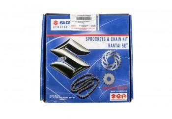 Suzuki Genuine Part 27000B25G60NKIT Chain Kit 14T 43T Hitam