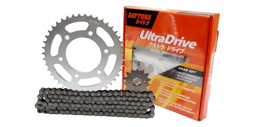 3489 Ultra Rantai & Gir Chain Kit 428H 0