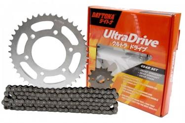 Daytona 3491 Ultra Chain Kit 15T 47T Silver