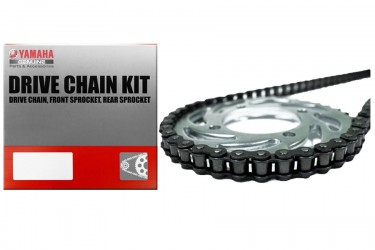 Yamaha Genuine Parts 3C1-W001A-20 Chain Kit Silver