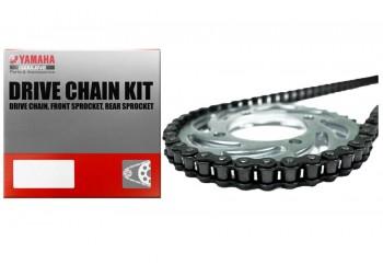 Yamaha Genuine Parts 3C1-W001A-20 Chain Kit Silver