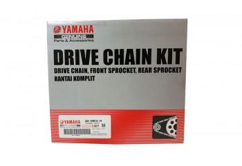 Yamaha Genuine Parts 3S0-W001A-10 Chain Kit Hitam