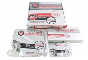BARANSU Gear Set Paket SUPRA FIT N (40T)