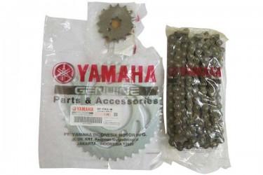 Yamaha Genuine Parts 4ST-F5435-03 Chain Kit Silver