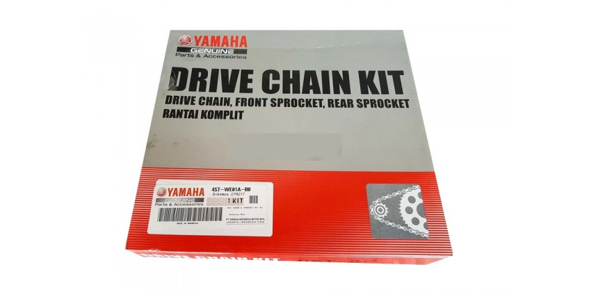 Yamaha Genuine Parts 4ST-WE01A-B0 Chain Kit 0