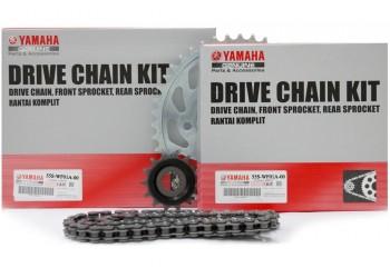 Yamaha Genuine Parts 55S-WF01A-00 Chain Kit Silver