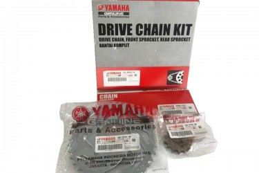 Yamaha Genuine Parts 5D9-W001A40-00 Chain Kit Silver