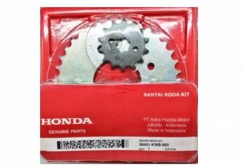 Honda 6125 Chain Kit Silver