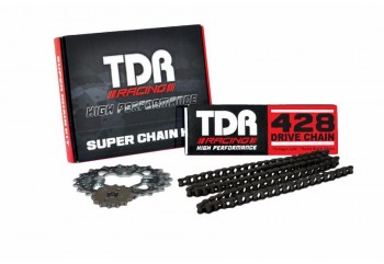 TDR 874 Chain Kit 15T 39T Hitam