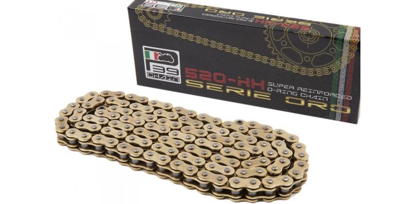 Rantai P39 Italy Chain 520HX-120L X-Ring Gold 0