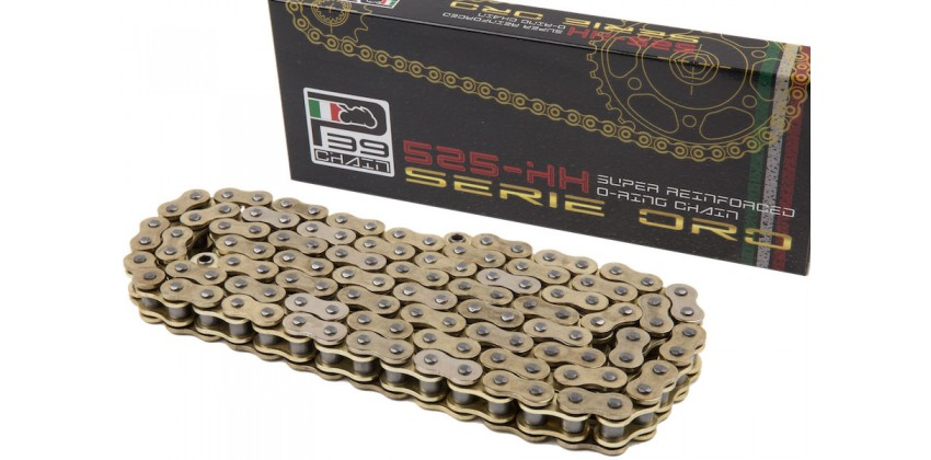 Rantai P39 Italy Chain 525HSO-120L Supersport O-ring Gold 0