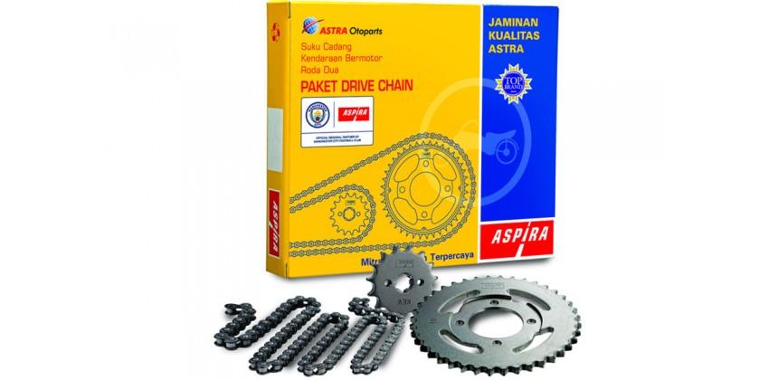 S2-645PA-SAT-1110 Chain Kit 428 Suzuki Satria F150 All New 0