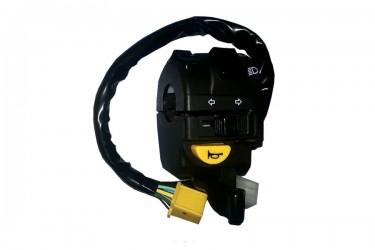 Suzuki Genuine Part 37400B25G40N000 Handle Switch Hitam