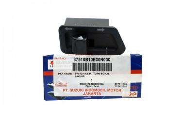 Suzuki Genuine Part 37510B10E00N000 Handle Switch Hitam Saklar Sein