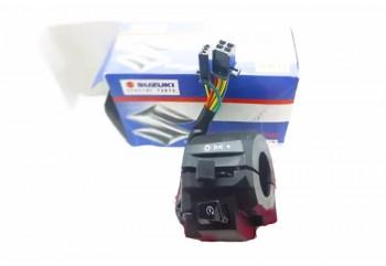 Suzuki Genuine Part 8607 Handle Switch Hitam Kanan non AHO